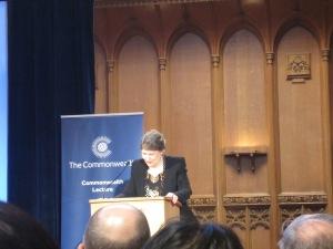 Helen Clark Commonwealth Lecture 2015